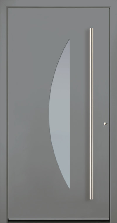 Aluminium entry door