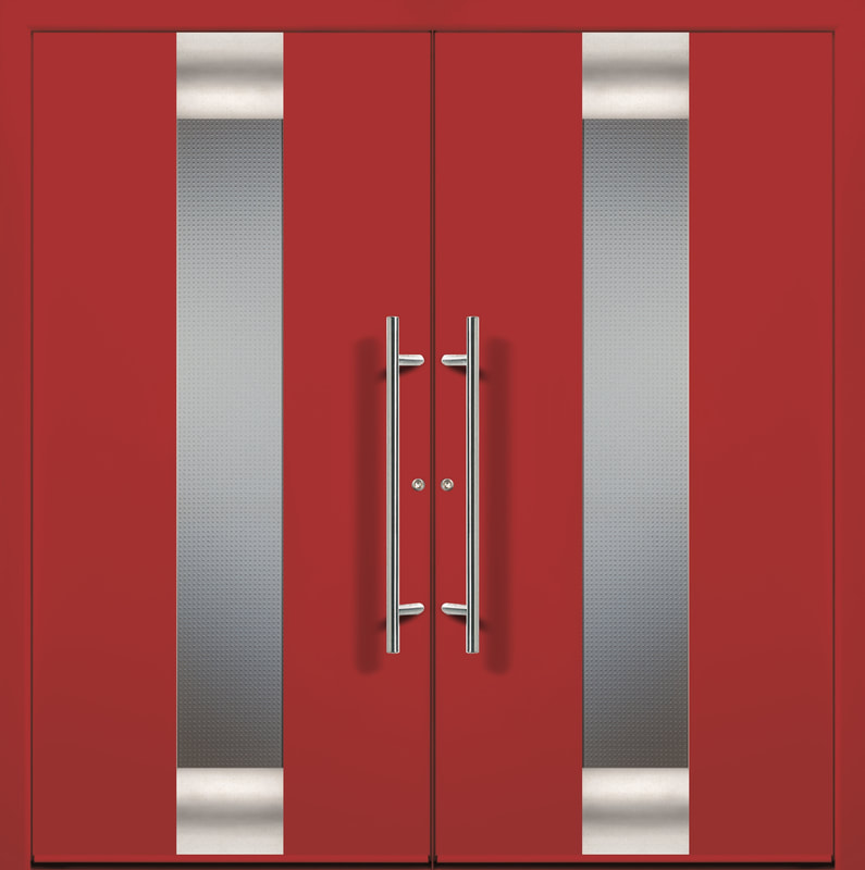 Modern Double Entry Door : groke doors - pezcame.com