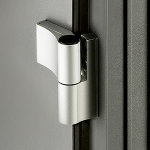Standard surface-mounted hinge